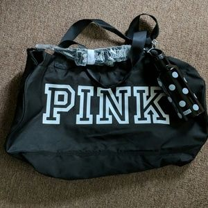 PINK Victoria Secret's Duffle and Water Bottle